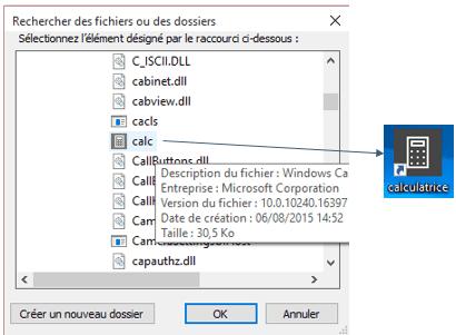 fichier calc.exe