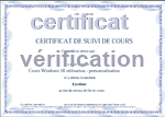 Vérification d'un certificat