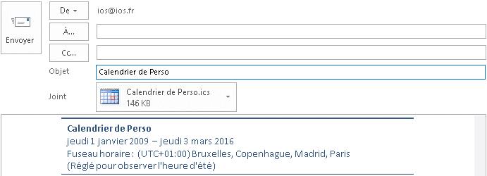 Calendrier Perso.Tutoriel Outlook 2016 Utilisation C Le Calendrier