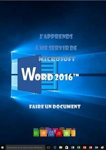 formation Word 2016 le document