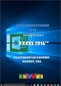 formation Excel 2016 traitement de données, macros ,vba